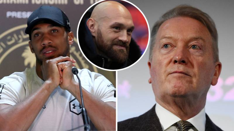 Frank Warren Says Anthony Joshua's Offer To Spar Tyson Fury Is 'Pointless'
