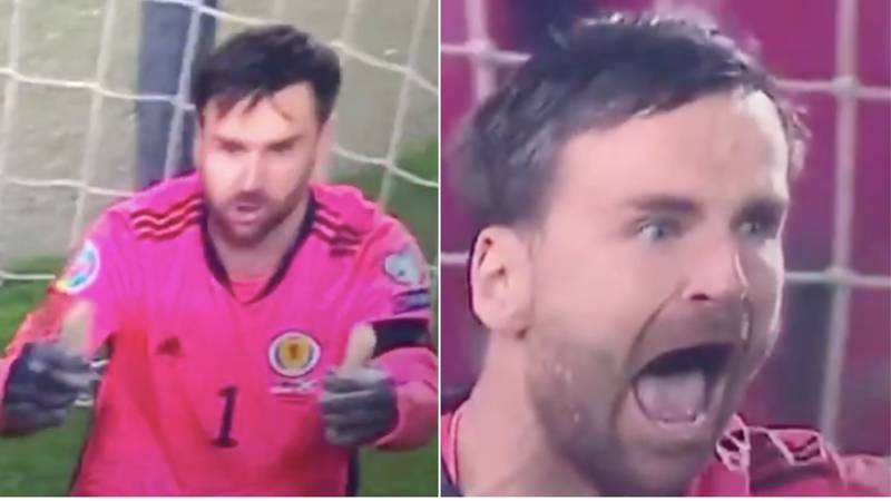 David Marshall Produced A Hilariously Brilliant Reaction To Save That Sent Scotland To The Euros