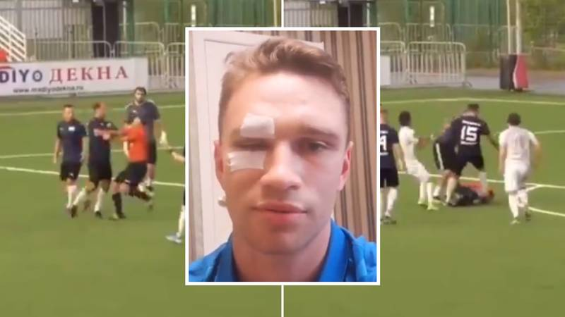 Former Russia Captain Roman Shirokov Hospitalises Amateur League Referee In Shocking Footage