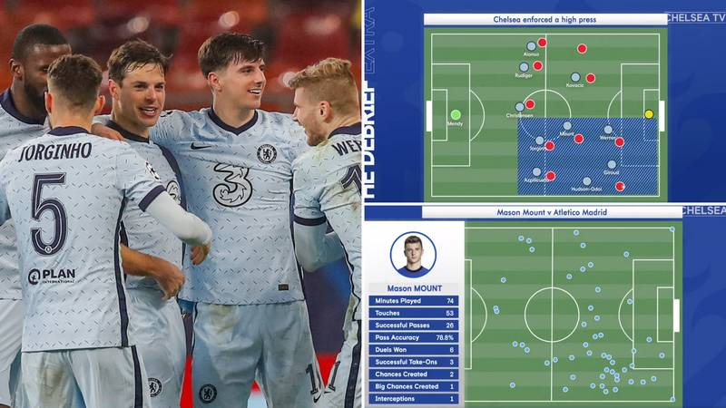 Chelsea's Official Account Gives Breakdown Of Win Vs Atletico, Fans Think It's The Future Of Football Analysis