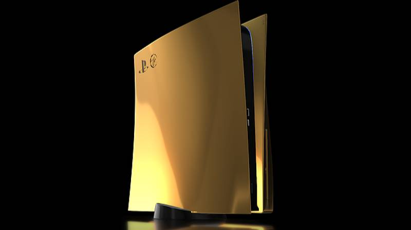 You Can Pre-Order A $10,000 Gold PS5 This Week