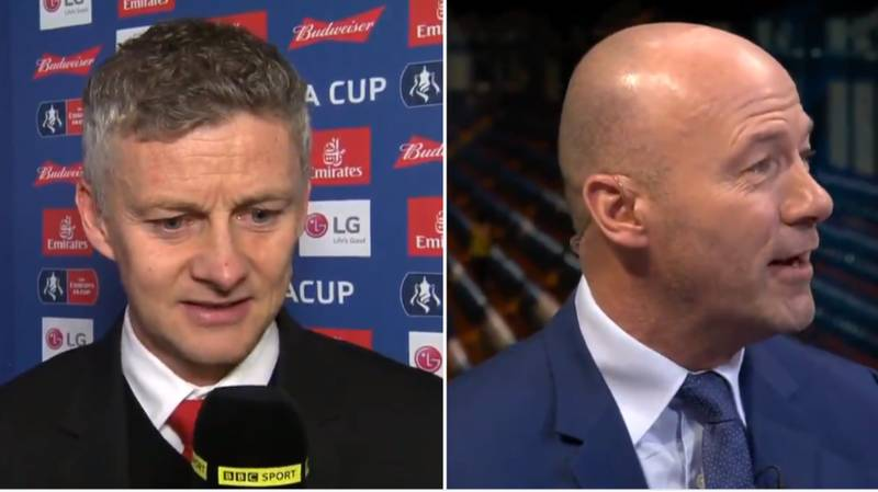Ole Gunnar Solskjaer Ruins Alan Shearer In His Post-Match Interview