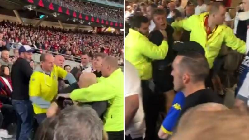 Man Utd And Leeds Fans Clash As Violence Mars Pre-Season Friendly In Perth