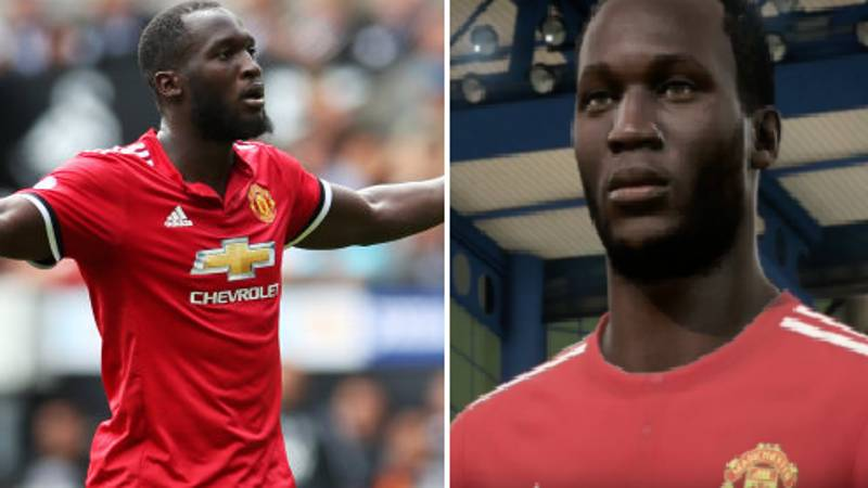 Everyone Is Raging Over Romelu Lukaku's FIFA 18 Rating And Stats