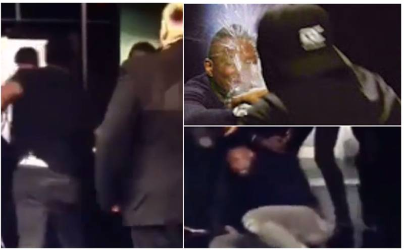 WATCH: Unseen Footage Of Dereck Chisora And Dillian Whyte Brawling