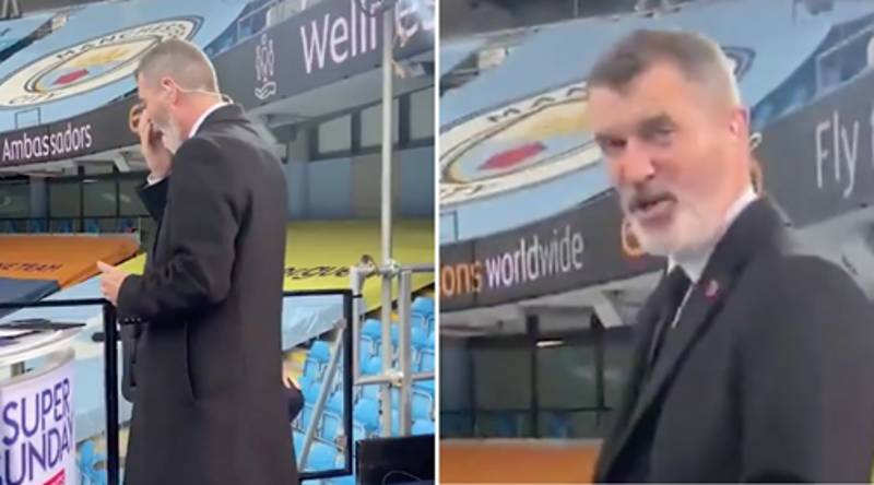 Micah Richards Caught Roy Keane Putting Makeup On And He Absolutely Lost It