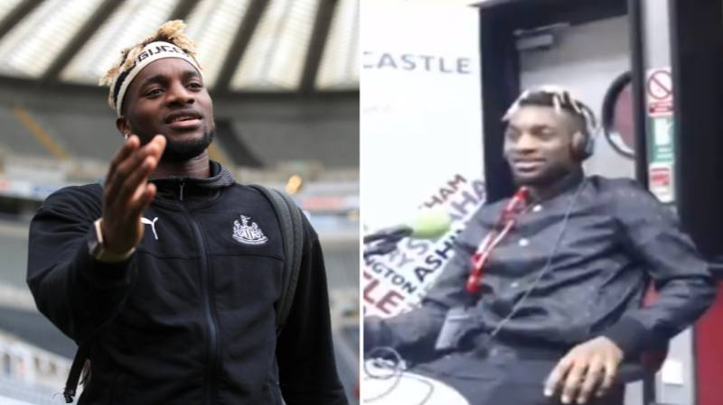 Allan Saint-Maximin Says He 'Doesn't Give A F**k About Scoring' On Live Radio