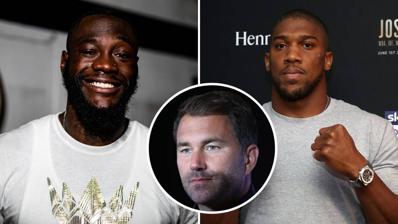Eddie Hearn Blasts Deontay Wilder For 'Using Anthony Joshua's Name Again' To Snub Tyson Fury Rematch