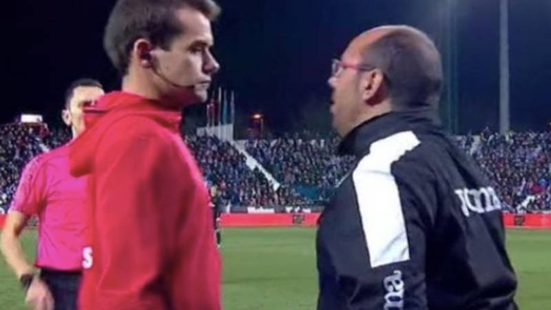 Leganes Kit Man Given EIGHT Match Ban For Foul-Mouthed Rant At Referee