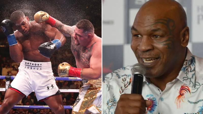 Mike Tyson Predicts Andy Ruiz Jr Will Beat Anthony Joshua In Rematch