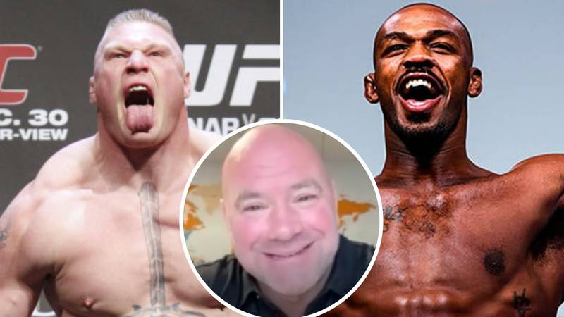 Dana White Gives Fresh Update On Brock Lesnar Situation Amid Potential Jon Jones Super-Fight