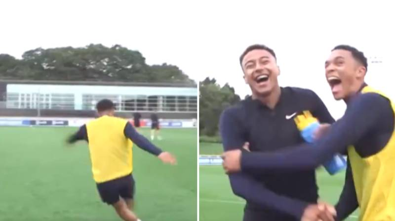 Trent Alexander-Arnold Perfectly Settles Training Ground Argument With Jesse Lingard