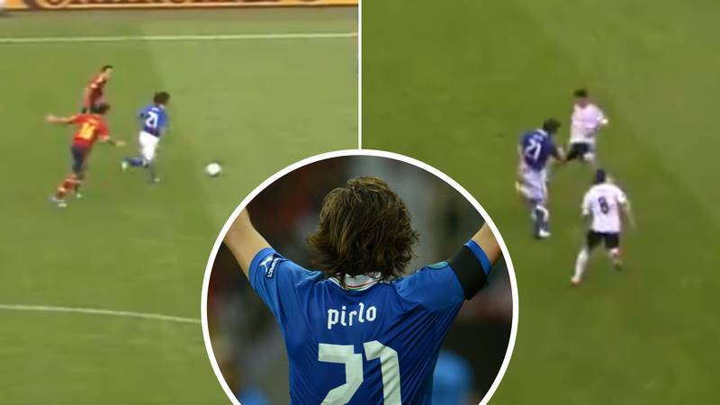 Video Proving That Andrea Pirlo Was 'Immune To Pressure' Is Absolutely Mesmerising