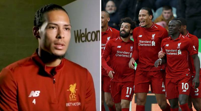 Virgil Van Dijk Names His Best Teammate, Toughest Opponent And All-Time Greatest Player