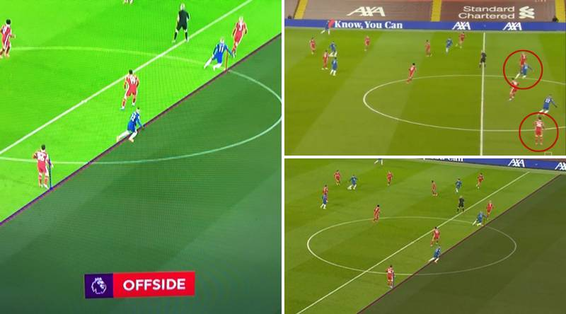 Chelsea Denied Opener Vs Liverpool After Timo Werner's Arm Is Judged Offside By VAR