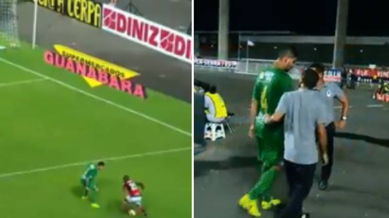 Watch: Vinicius Junior Ruined A Defender So Bad He Went Off Injured