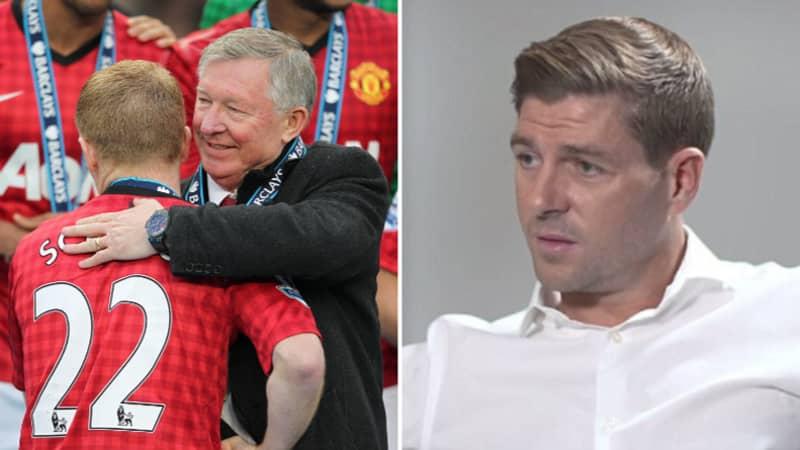 Steven Gerrard's Honest Response To Sir Alex Ferguson Saying He Wasn't 'A Top, Top Player'