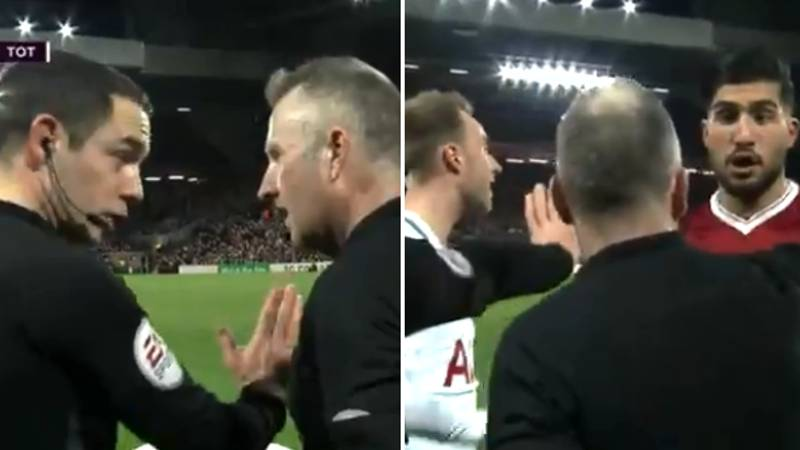The Full Conversation Between Eriksen, Can And Match Officials Revealed, And It's Very Interesting