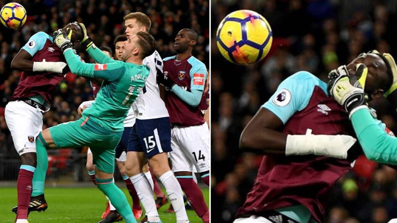 Adrian's Explanation Behind Mistaking Cheikhou Kouyate's Head For A Football Is Brilliant