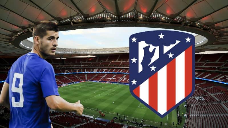 Atletico Madrid Eye Up Loan Move For Chelsea's Alvaro Morata