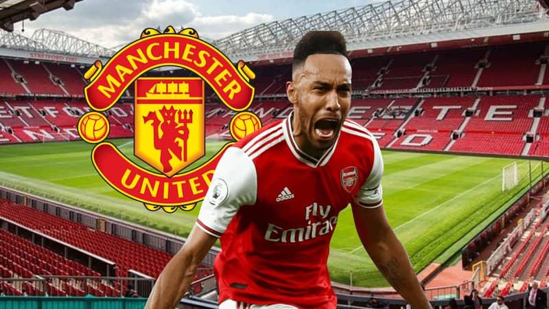 Manchester United Lining Up Shock Bid For Arsenal Striker Pierre-Emerick Aubameyang