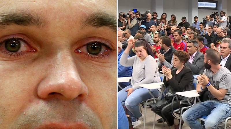 Iniesta's Press Conference Has Audience Both Crying and Applauding
