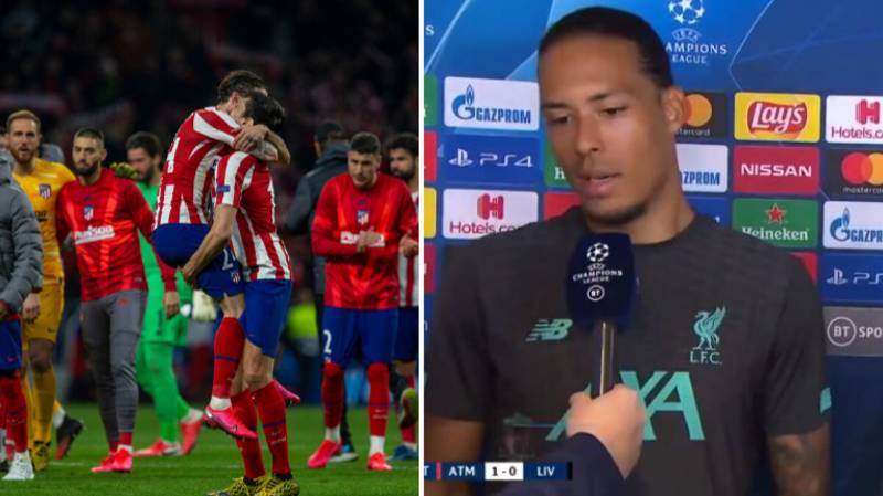 Liverpool Players Give 'Salty' Interview Following Loss To Atletico Madrid