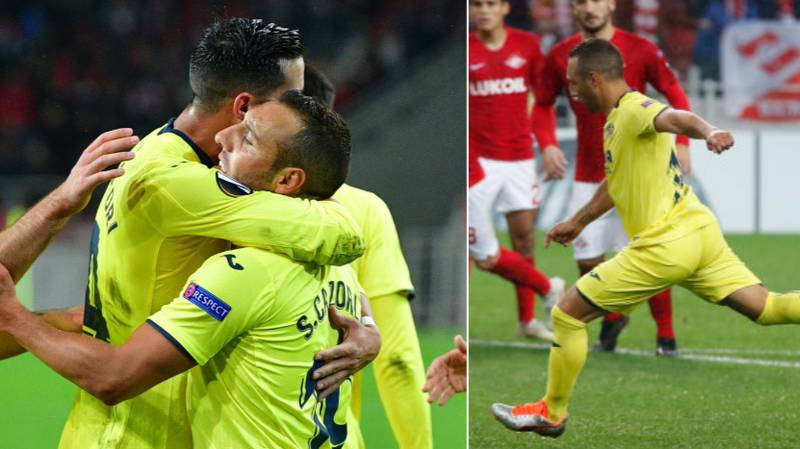 Santi Cazorla Scored A 96th Minute Equaliser For Villarreal, His First Goal Since 2016
