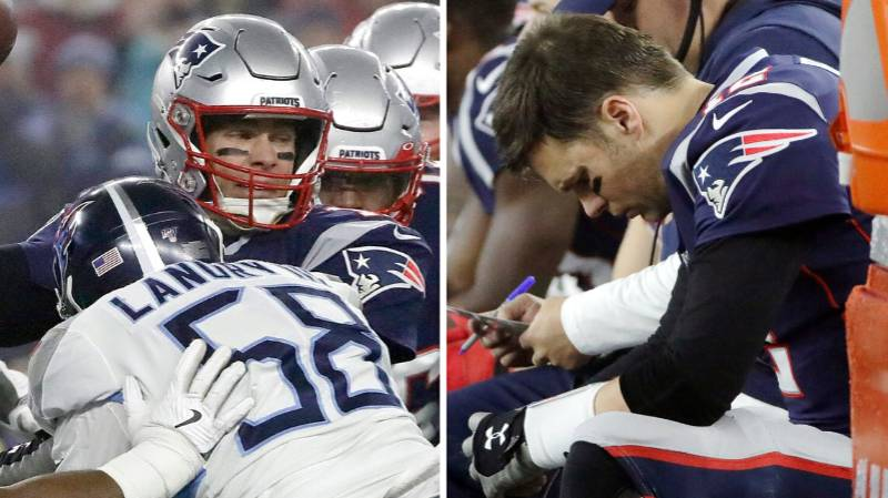 Tom Brady Responds To Retirement Talk After New England Patriots' Playoff Defeat