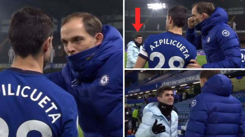 Christian Pulisic Corrects Thomas Tuchel On Cesar Azpilicueta's Name