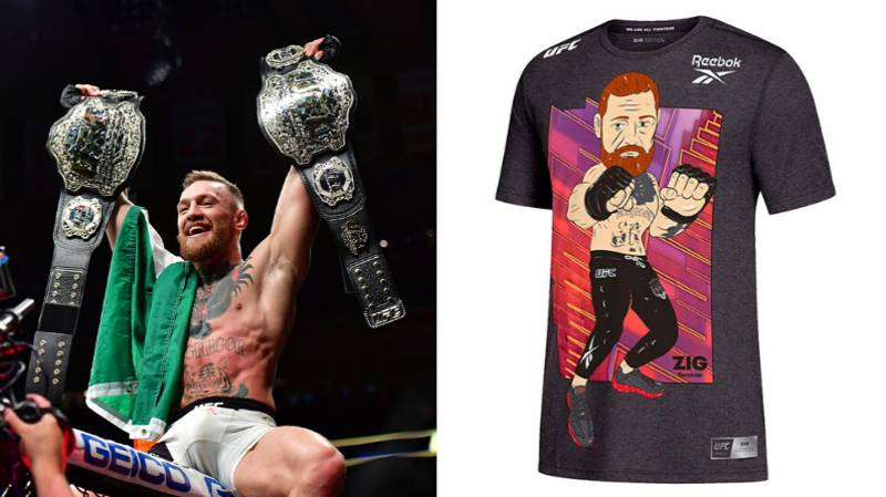 Fans Aren't Impressed By UFC's New Conor McGregor T-Shirt