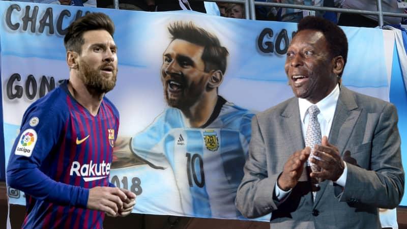 Lionel Messi's Stats Since 2008 Shut Down Pelé's 'Shoots With One Leg' Comment