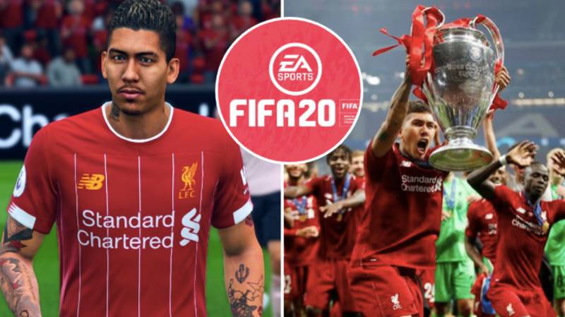 Fans Are Fuming With Roberto Firmino's FIFA 20 Rating