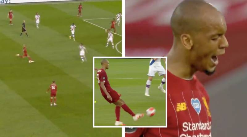 Fabinho Drops The Most Complete Midfield Performance Of The Season Vs Crystal Palace