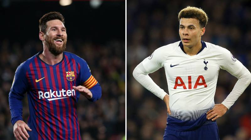 Mauricio Pochettino Reckons Dele Alli Can Be Like Lionel Messi