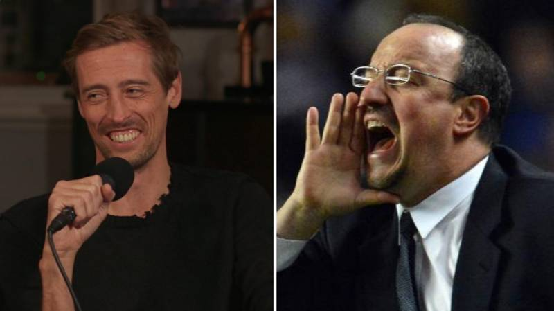 Peter Crouch Once Bought Jose Mourinho's Book For Rafa Benitez In Secret Santa
