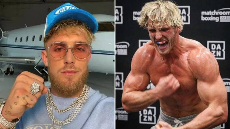 Jake Paul's Response When Asked Who'd Win A Fight Between Himself And Brother Logan