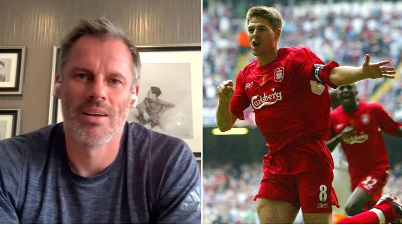 Jamie Carragher Names The Liverpool And England Stars Who Impressed Him The Most During His Career