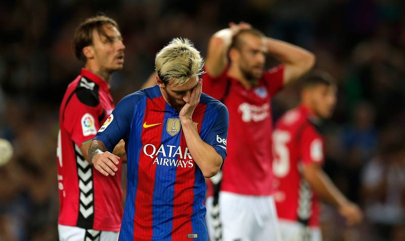 Barcelona Beaten At Home By Tiny Deportivo Alaves