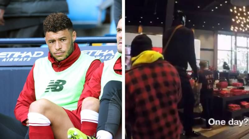 Alex Oxlade Chamberlain Disguise Prank Doesn't Go Well For Him