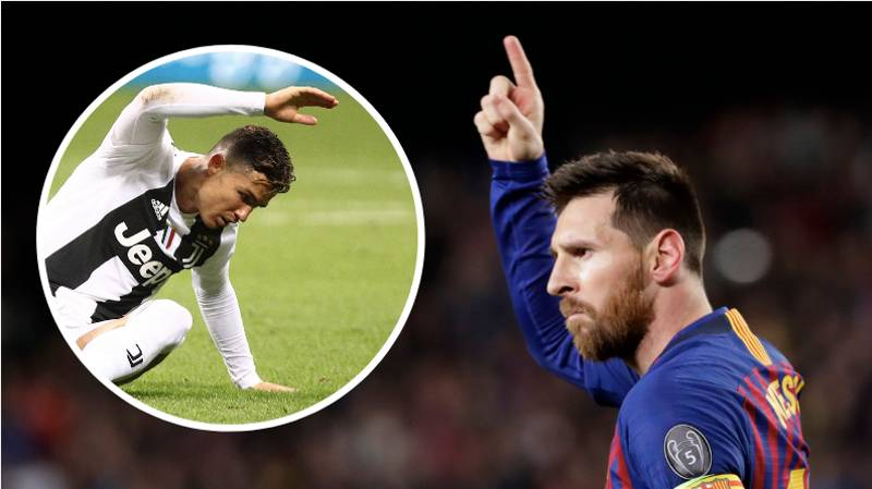 Lionel Messi's Free Kick Record Compared To Cristiano Ronaldo's Is Incredible