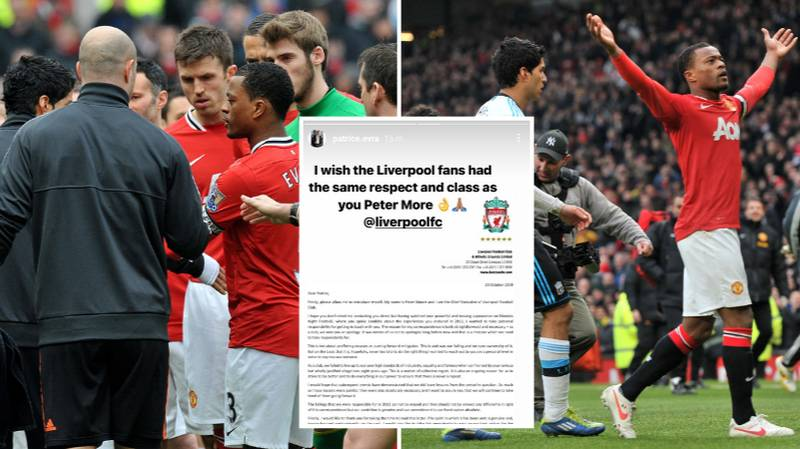 Patrice Evra Slams Liverpool Fans For Lack Of 'Respect And Class' After Sharing Letter From Liverpool CEO Peter Moore