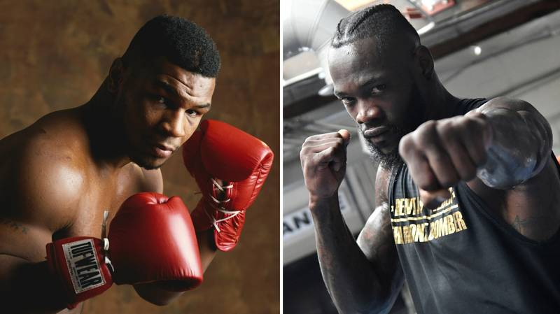 Boxing Fans Are Certain 1987 Mike Tyson Beats 2019 Deontay Wilder