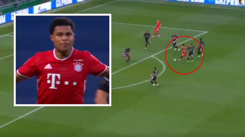 Serge Gnabry Scores Incredible Solo Goal To Give Bayern Munich The Lead Vs Lyon