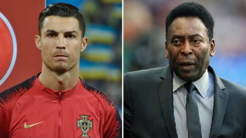 Pele Sends Message To Cristiano Ronaldo After Surpassing 100 Goals For Portugal