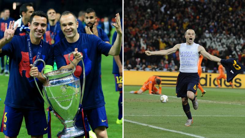 Andres Iniesta Awarded The Highest Honour In Spanish Football