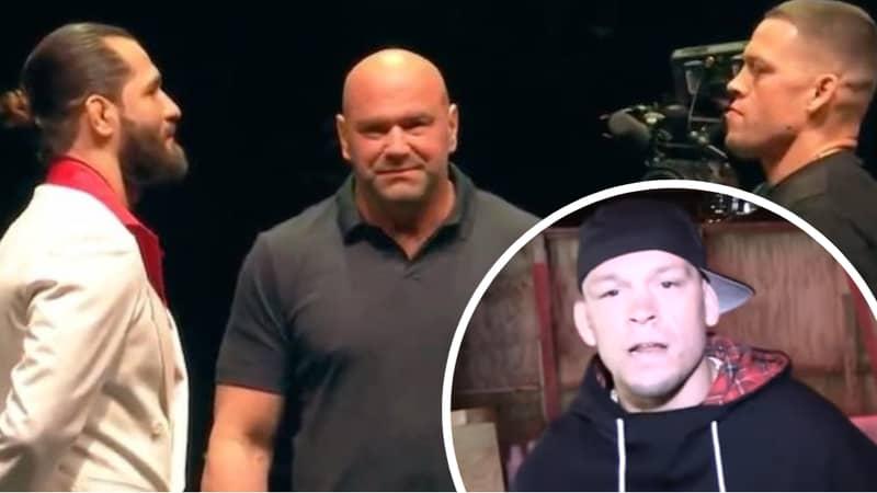 UFC Star Nate Diaz Brilliantly Responds To 'BMF' Belt Critics