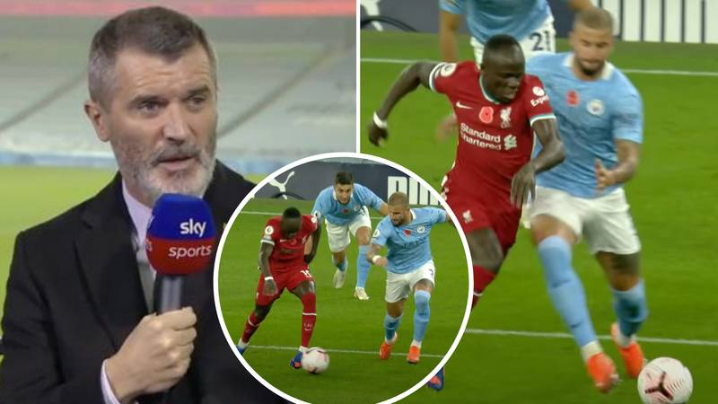 Man United Legend Roy Keane Branded 'Cheap' And A 'Disgrace' After He Called Kyle Walker An 'Idiot'