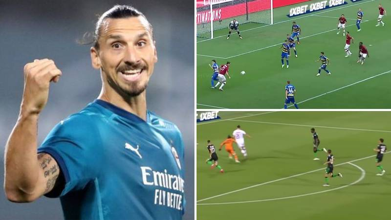Zlatan Ibrahimovic's Sensational Highlights At 39 Shows Why He's One Of The Best Strikers Ever