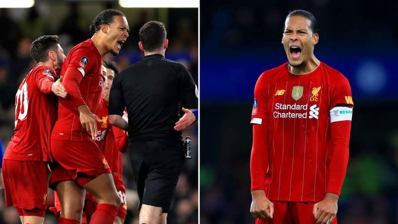 Virgil Van Dijk Gives Salty Response To Liverpool's Winning 'Just' The Premier League